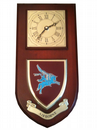 Airborne Pegasus Regimental Wall Plaque Clock